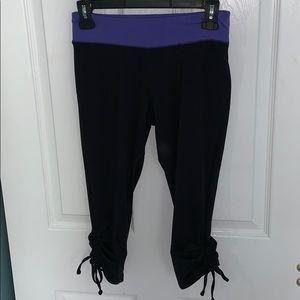 Cropped athletic leggings